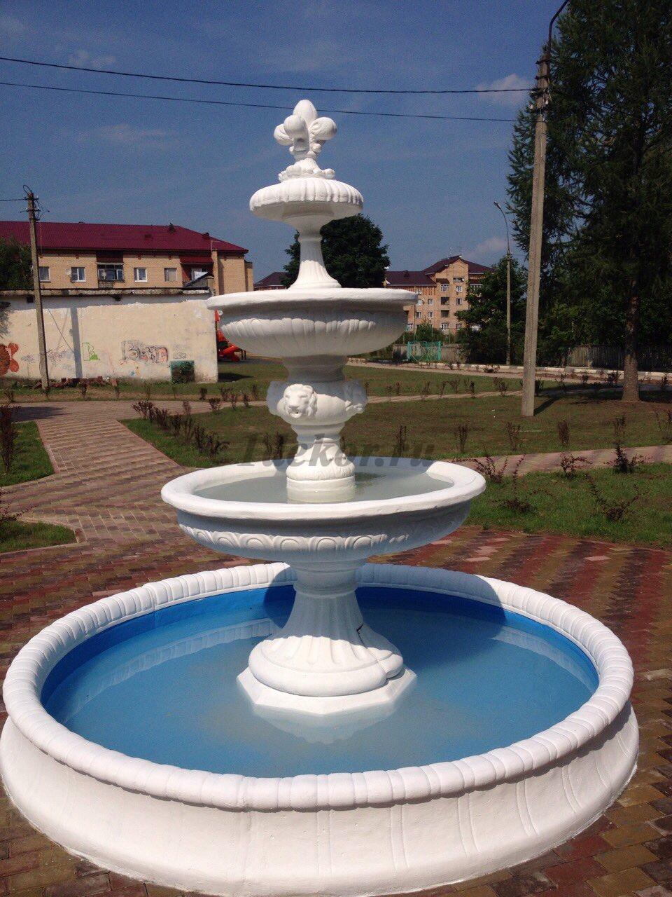 фонтан из бетона в москве